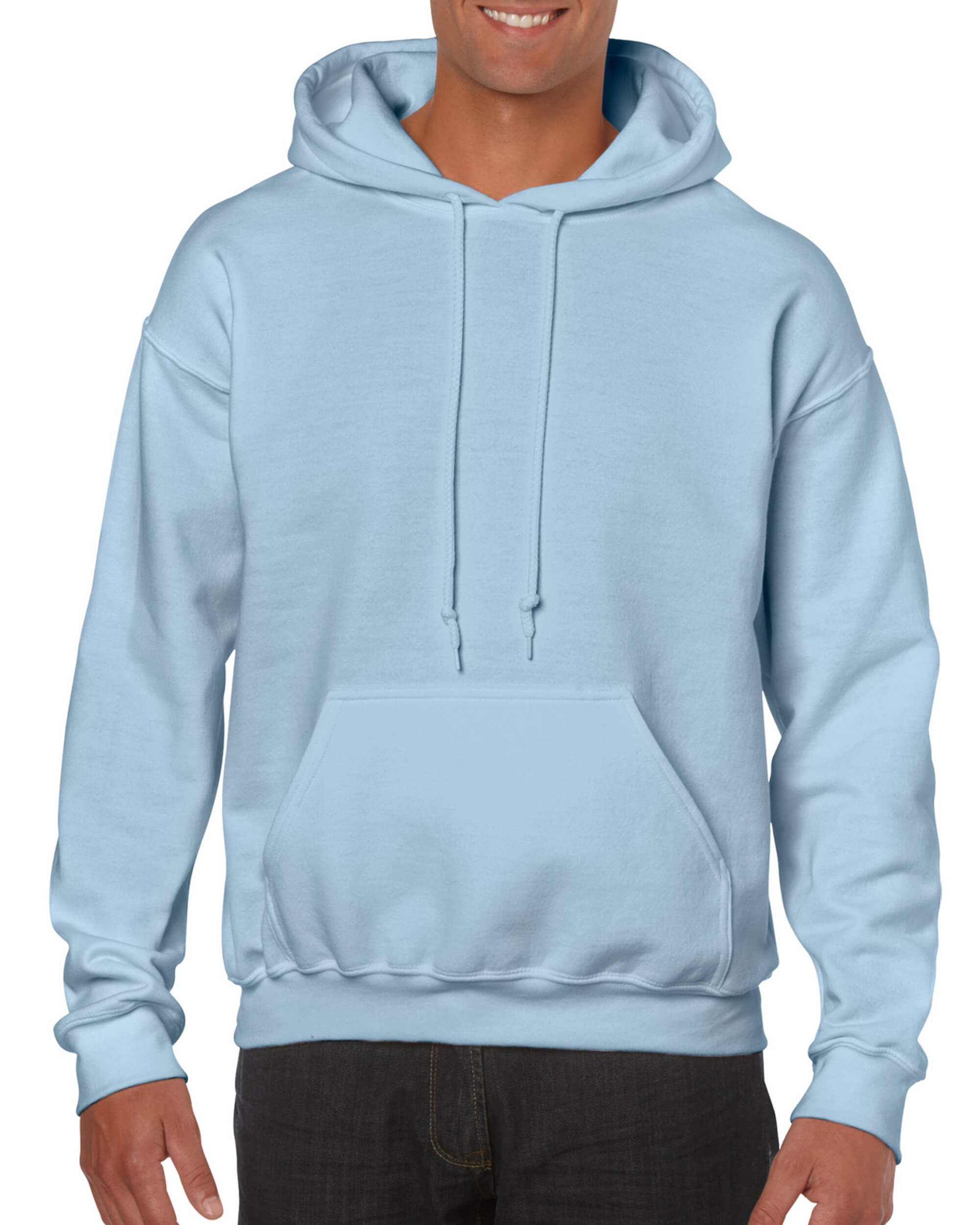 capital screw shy  Light Blue Pullover Hoodie - T-Shirt Explosion